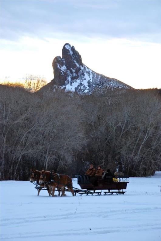 Smith Fork Ranch Sleigh Ride