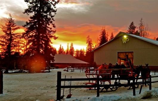 western-pleasure-ranch-winter-sunset