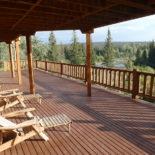 Big Creek Lodge Deck Views