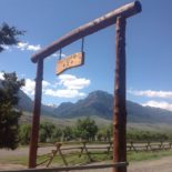 Double Diamond X Ranch Entrance - Cody, WY