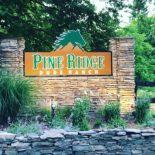Pine Ridge Dude Ranch - Entrance